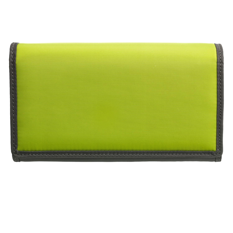 Peněženka Pintura - antracit/zelená