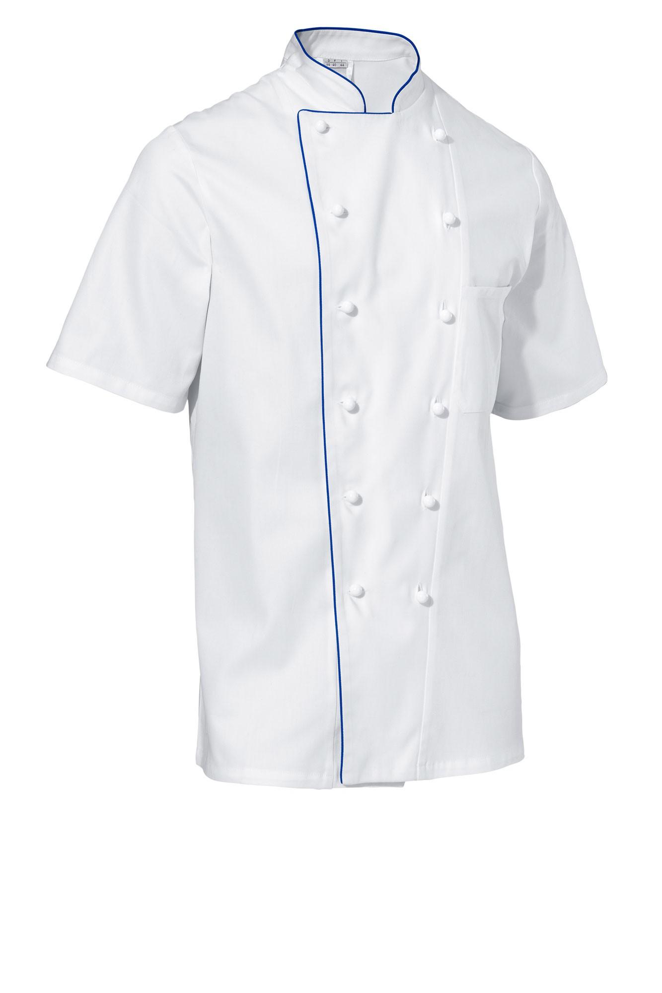 Rondon Samuel - krátký rukáv - bílá/modré lemování