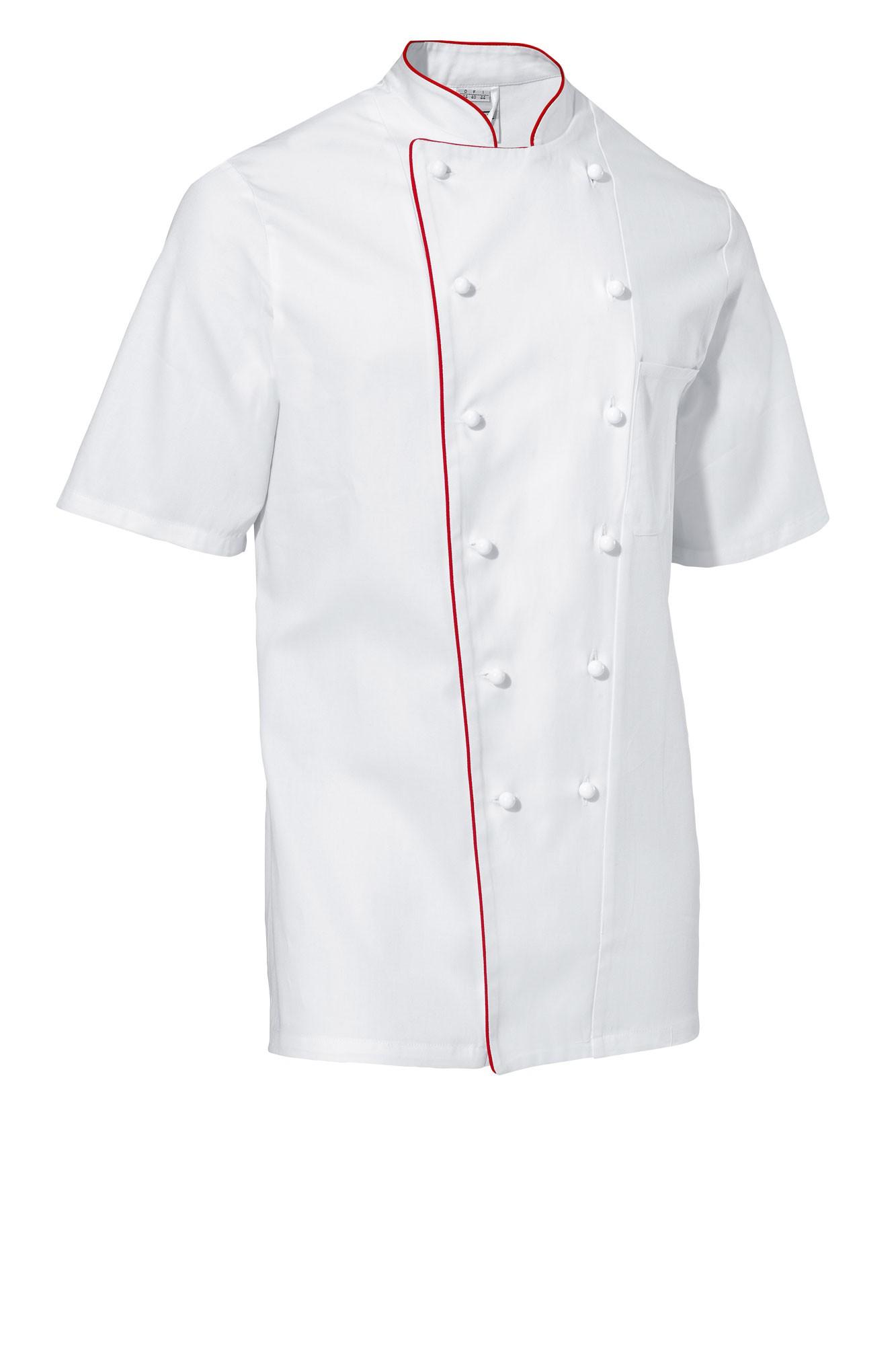 Rondon Samuel - krátký rukáv - bílá/červené lemování