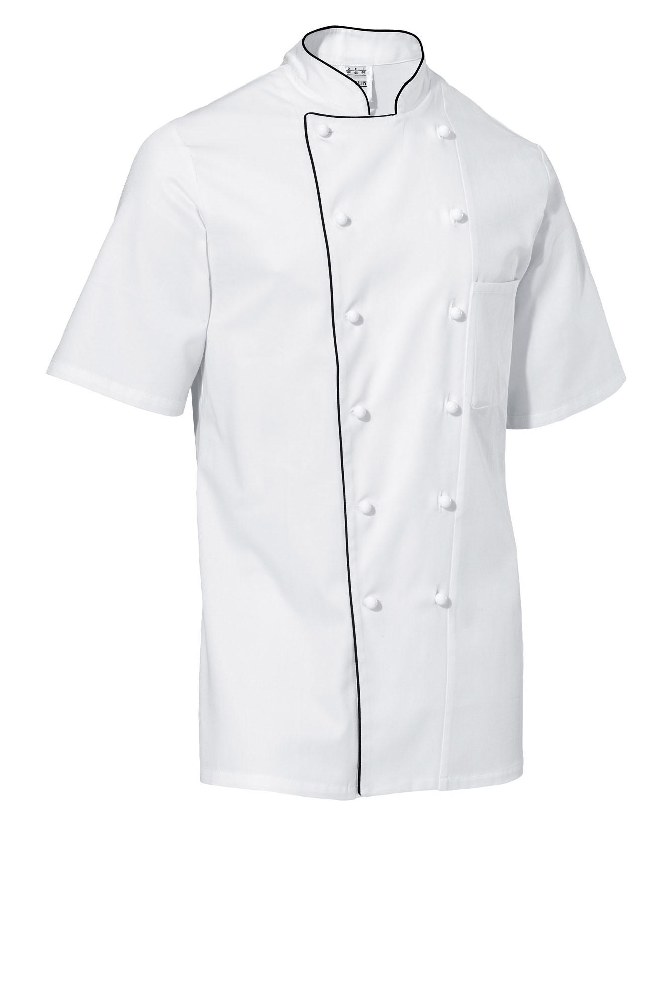 Rondon Samuel - krátký rukáv - bílá/černé lemování