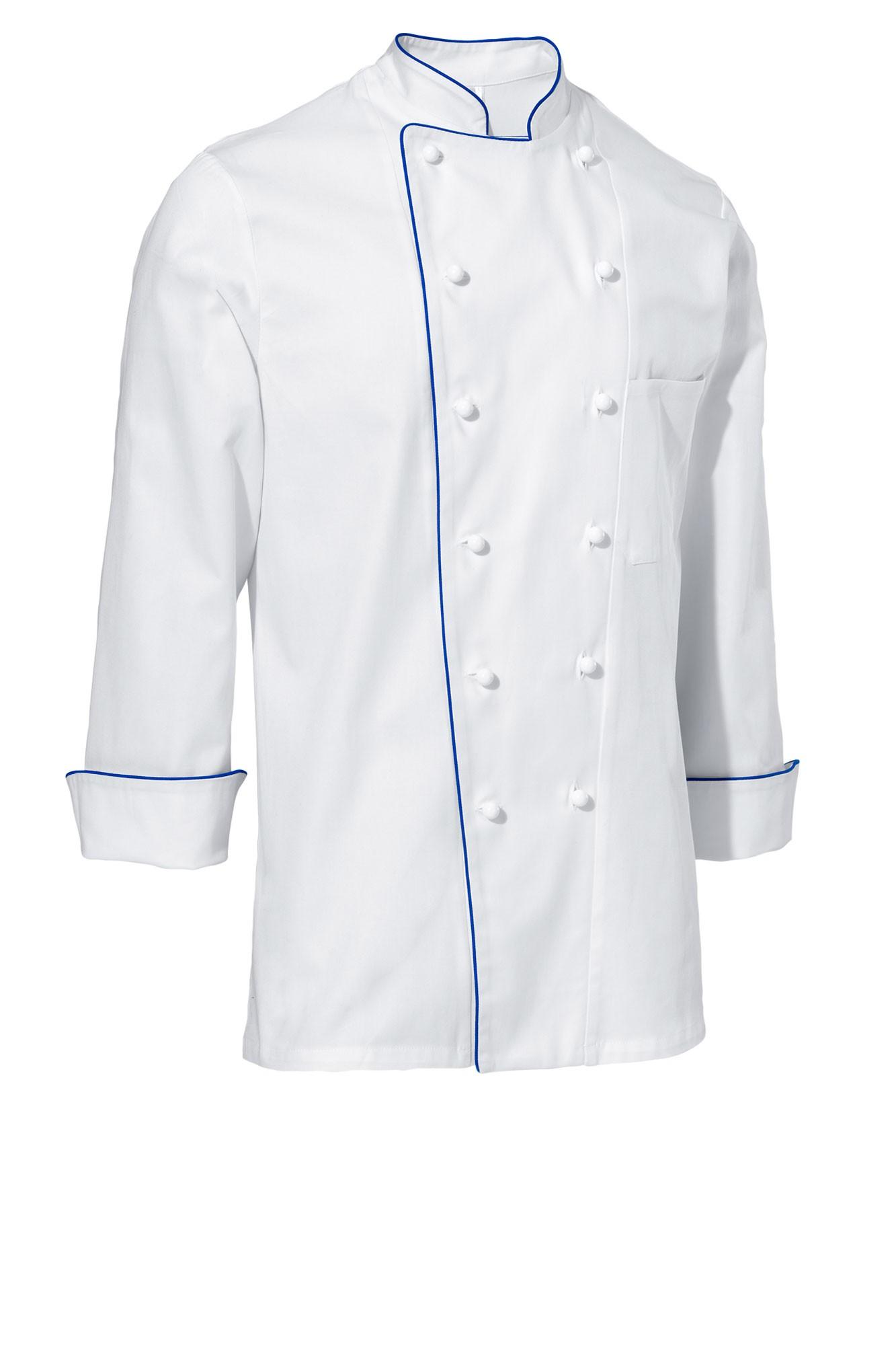Rondon Samuel - dlouhý rukáv - bílá/modré lemování