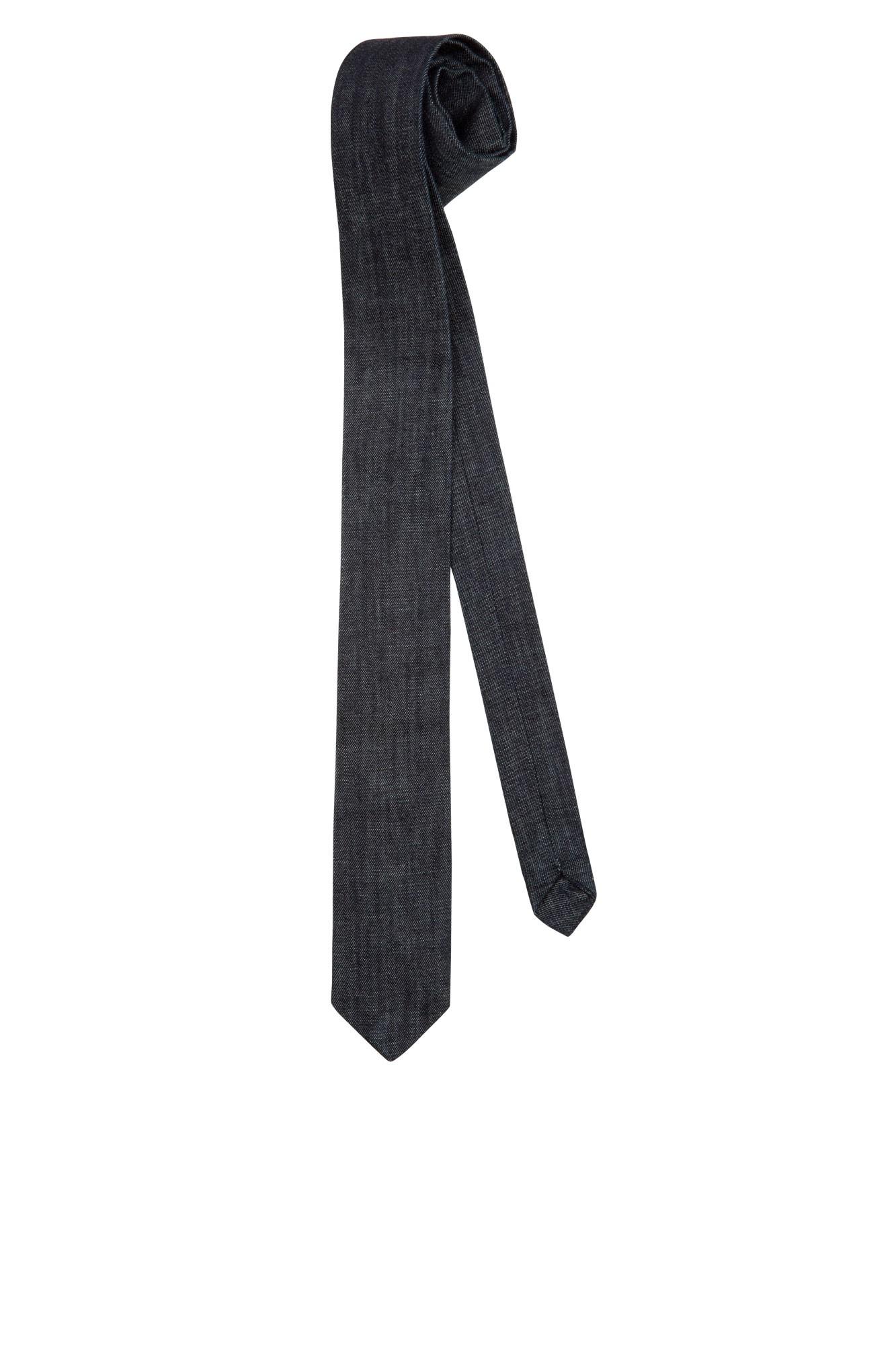 Kravata Bo úzká - denim