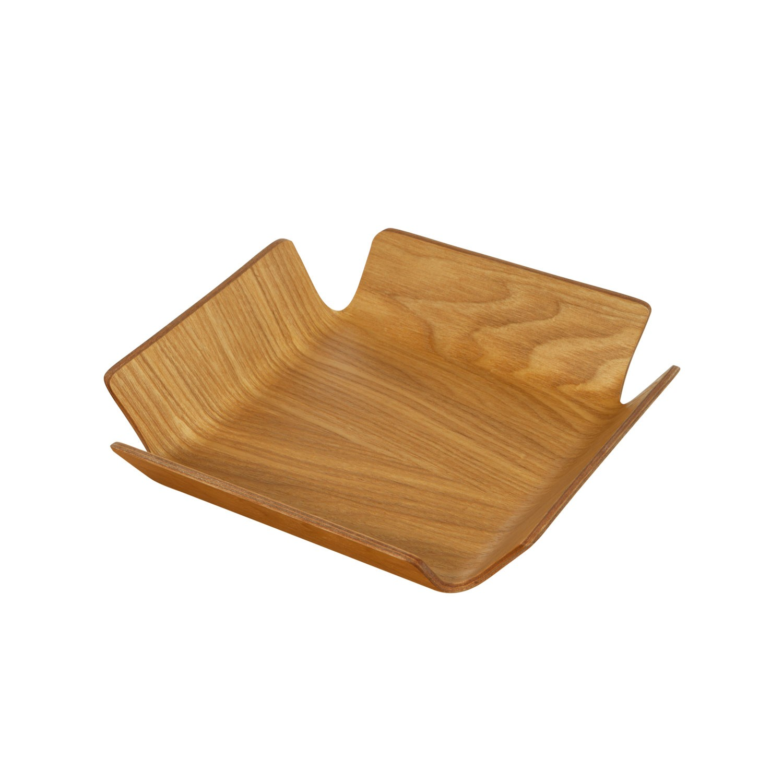Košík na pečivo Apoti, 21x21 cm - sv. hnědá