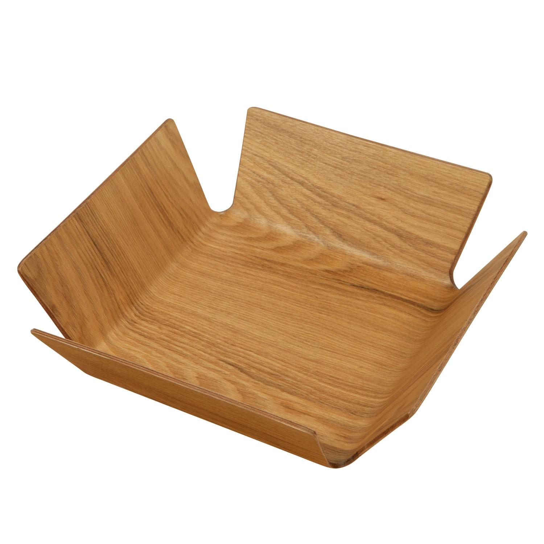 Košík na pečivo Apoti, 29x29 cm - sv. hnědá