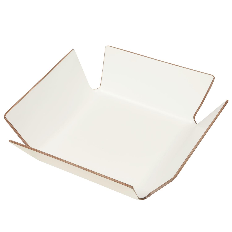 Košík na pečivo Apoti, 29x29 cm - bílá