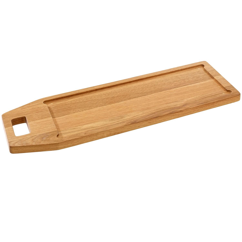 Dřevěné servírovací prkénko Laredo, 59,4x18,2 cm - dub