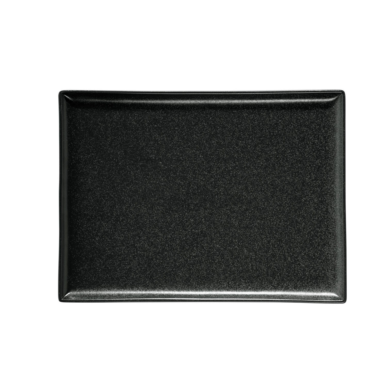 Podnos obdélníkový Masca, 27x21 cm - černá