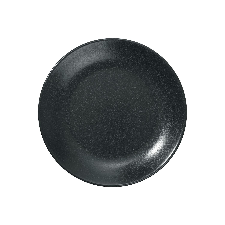 Talíř plochý Masca, 18 cm - černá