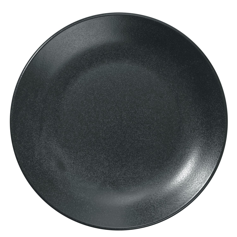 Talíř plochý Masca, 28 cm - černá