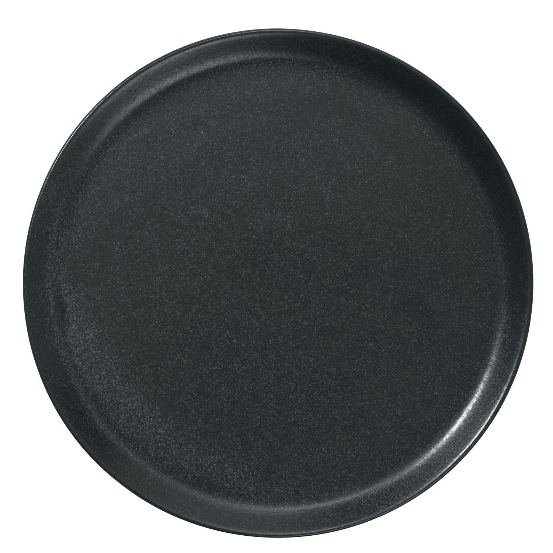 Pizza talíř Masca, 28 cm - černá