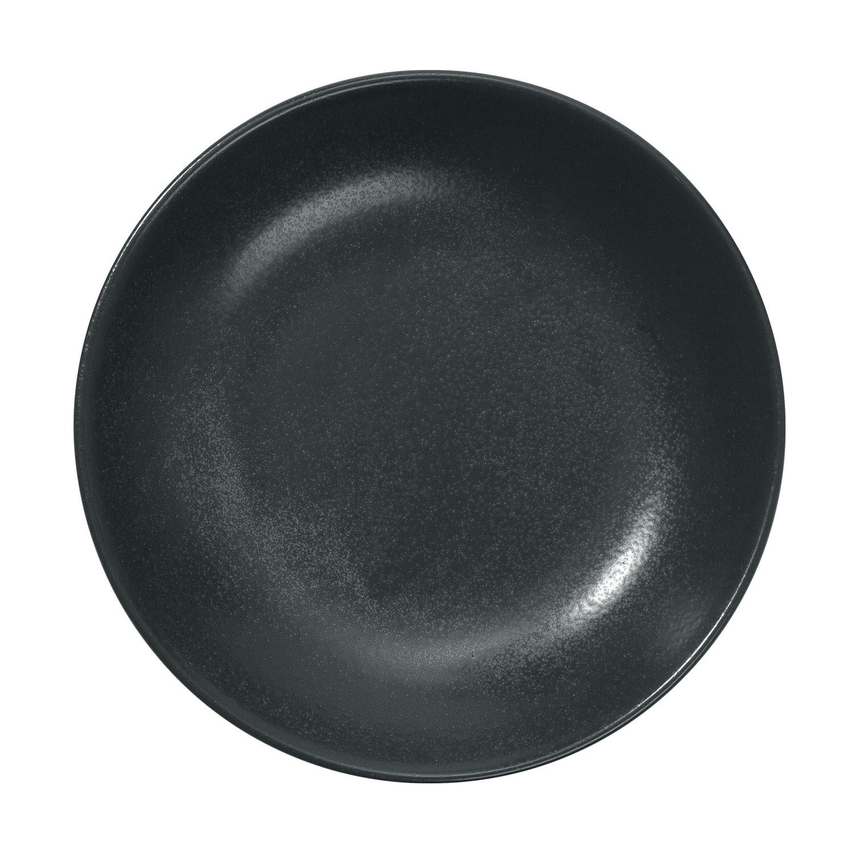 Talíř hluboký Masca, 26 cm - černá