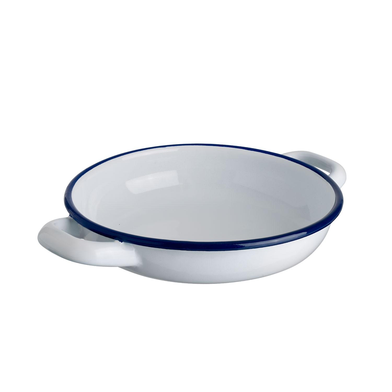 Servírovací miska Luni, 20 cm - bílá/modrá