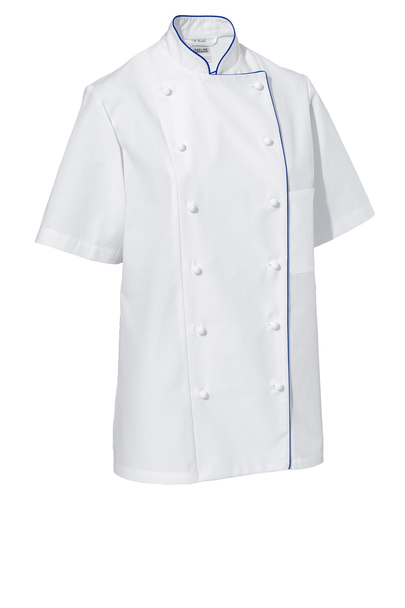 Rondon Aila - krátký rukáv - bílá/modré lemování