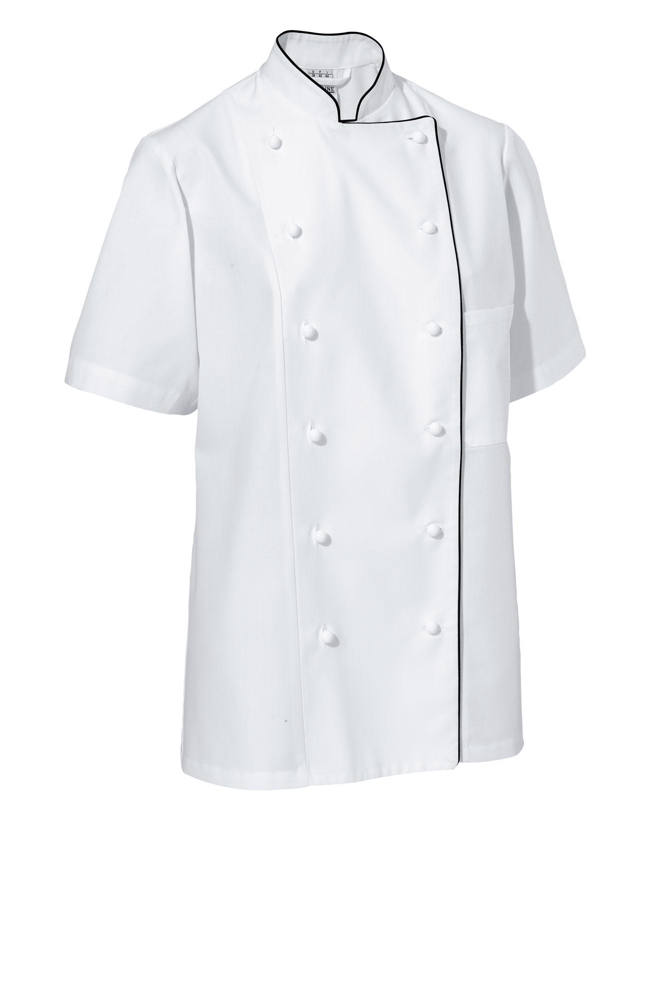 Rondon Aila - krátký rukáv - bílá/černé lemování