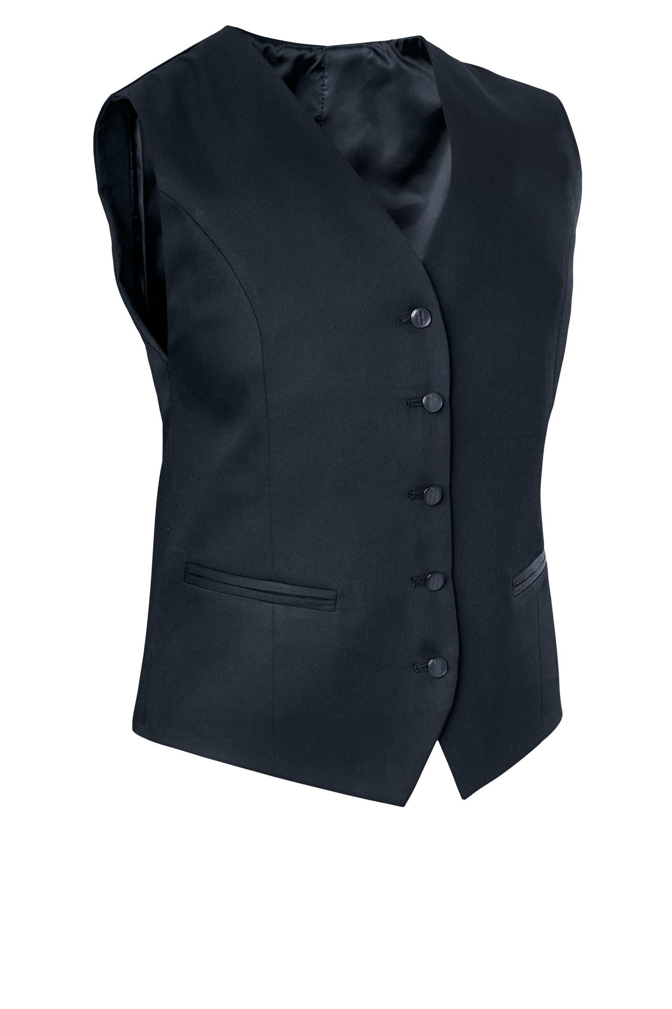 Dámská vesta Bistro - černá