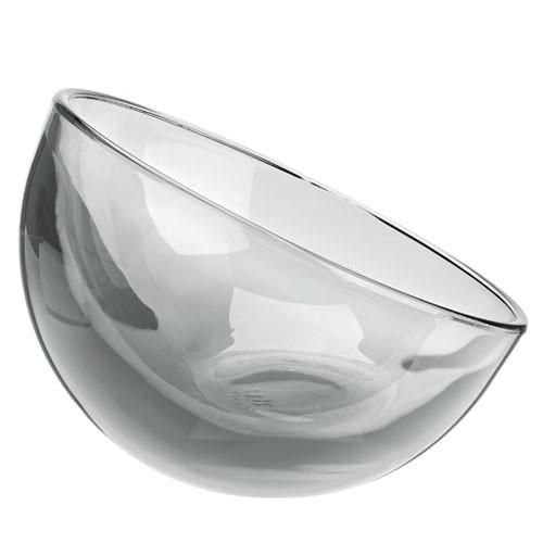 Zmrzlinový pohár/mini sklenice Bubblina, šedá - 130 ml