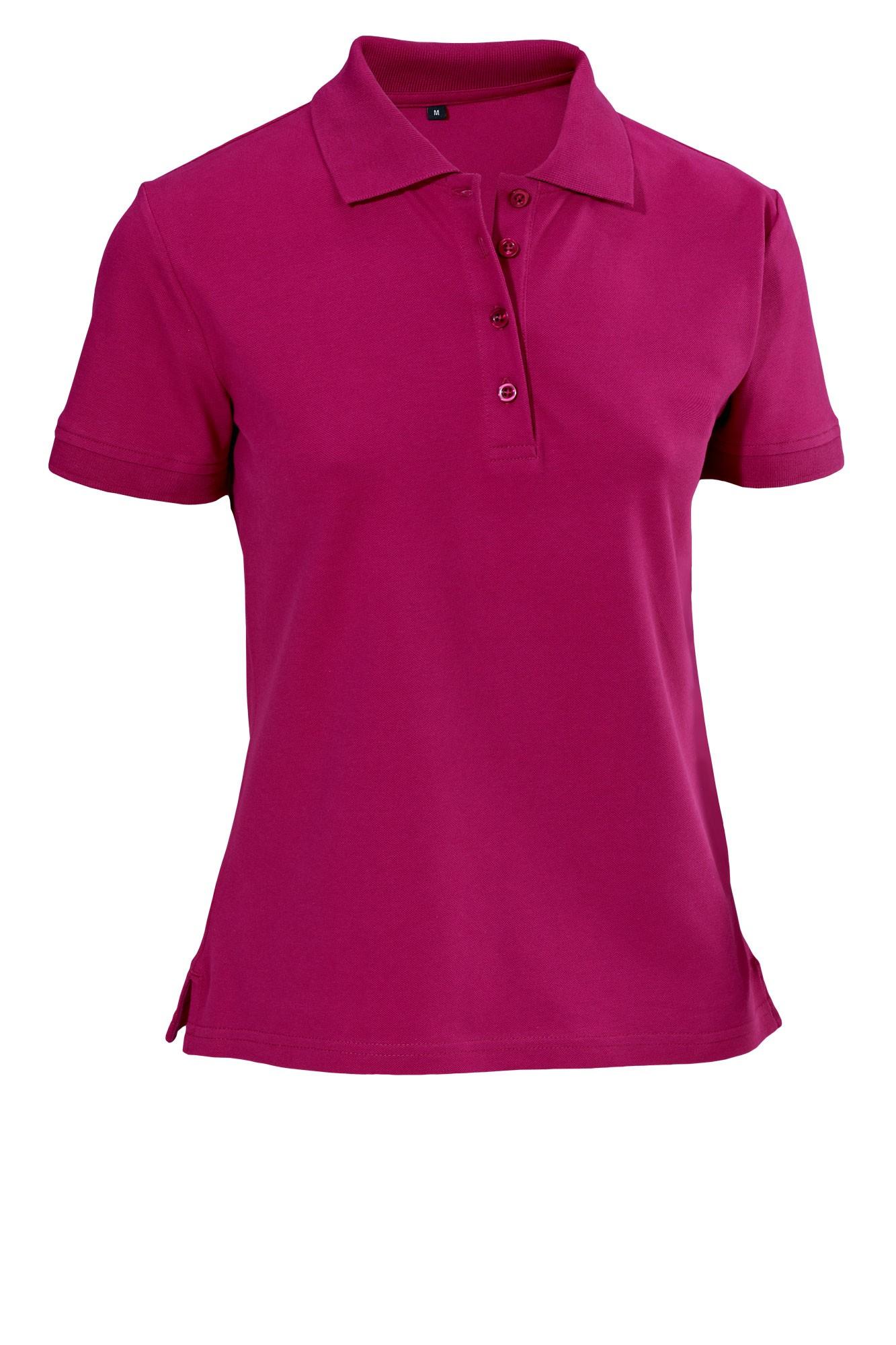 Dámské tričko Cato - ostružinová/krátký rukáv