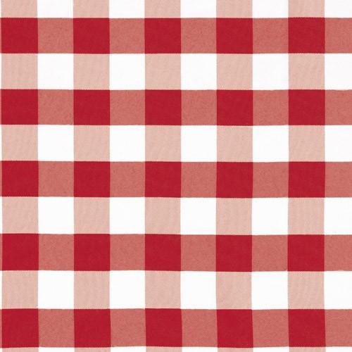 Metráž Country - červená