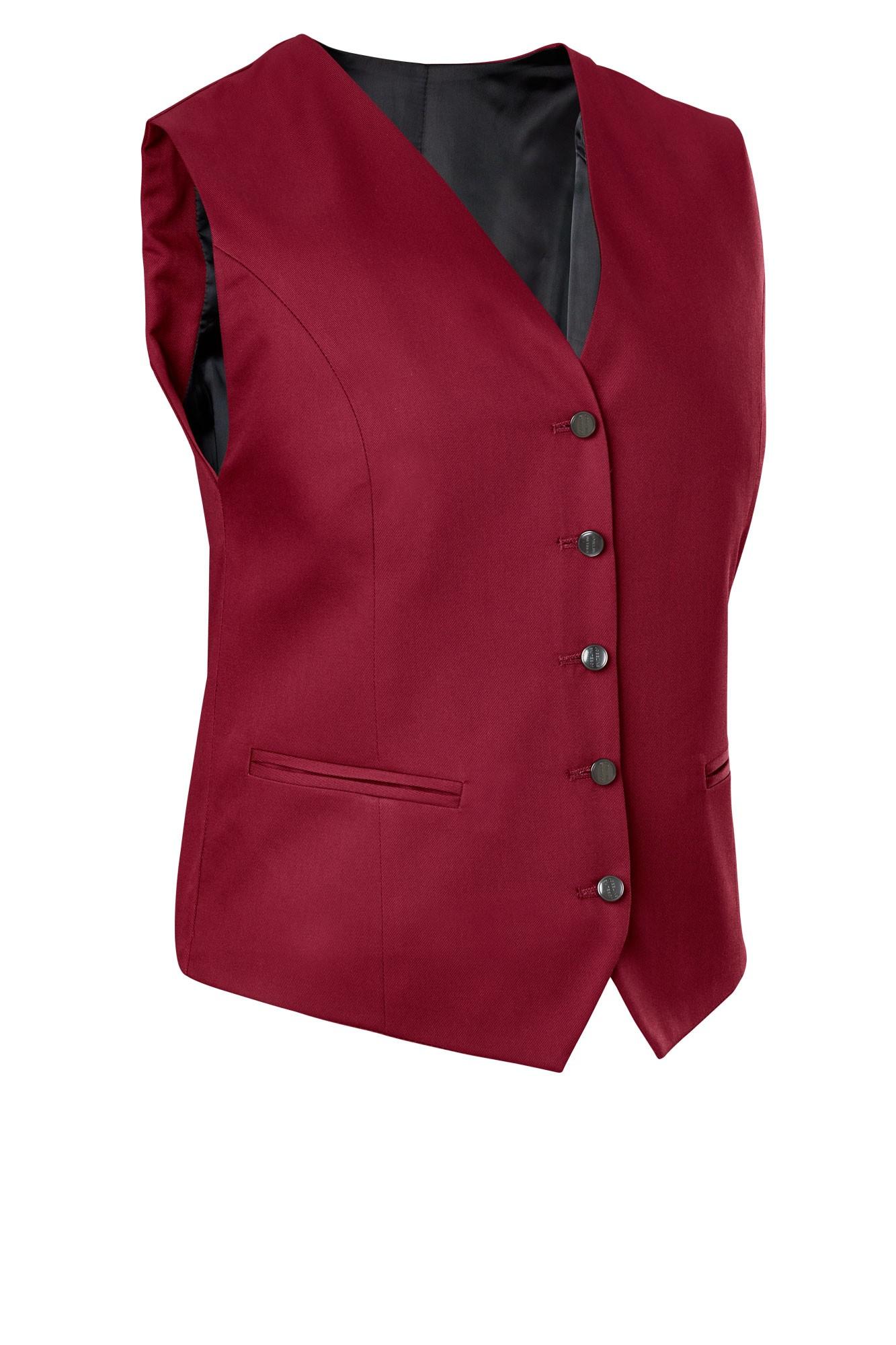 Dámská vesta Bistro - bordo