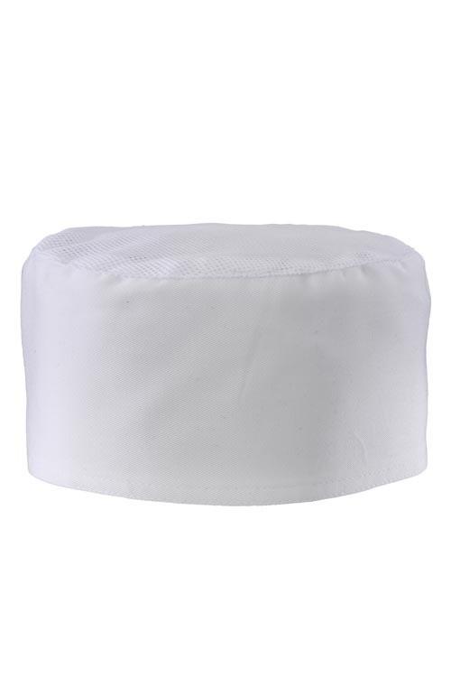 Kuchařská čepice Scull - bílá