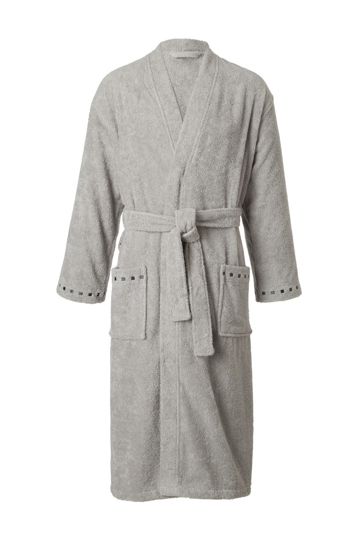 Koupací plášť Noblesse - šedá