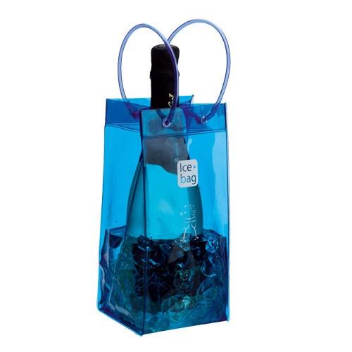 Chladící box na láhve Ice-bag®, 25 cm - modrá