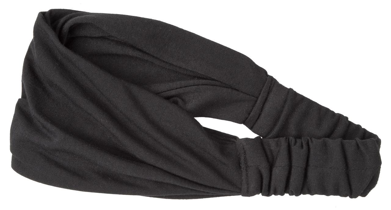 Kuchařská čelenka do vlasů Curly, černá