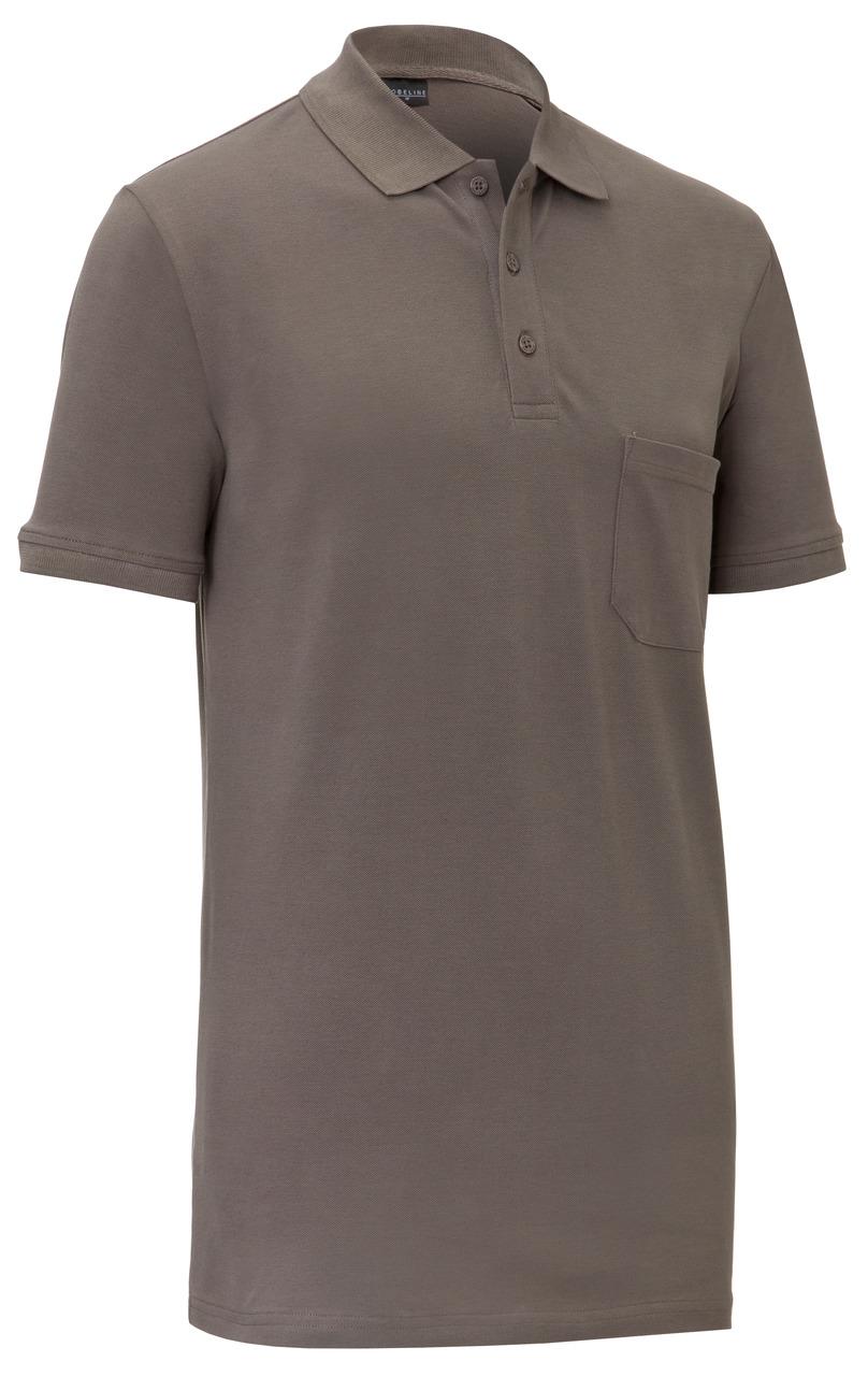 Pánské tričko Cato - šedohnědá/krátký rukáv