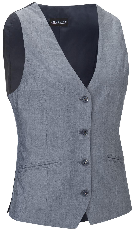 Dámská vesta Blake, chambray
