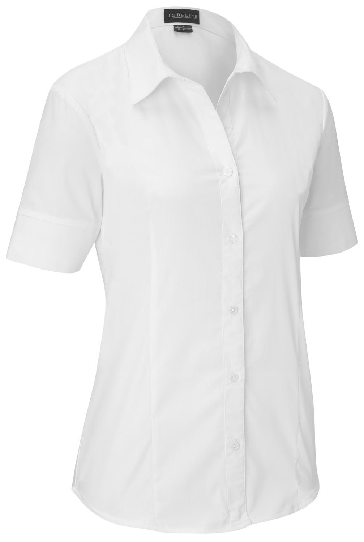 Dámská halenka Tabea, krátký rukáv - bílá