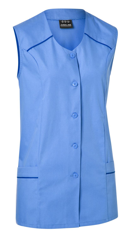 Dámská tunika Erika, bez rukávů - modrá