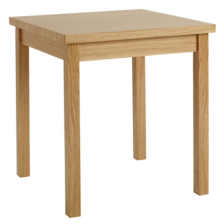 Stůl Karl, 80x80 cm - dub natur