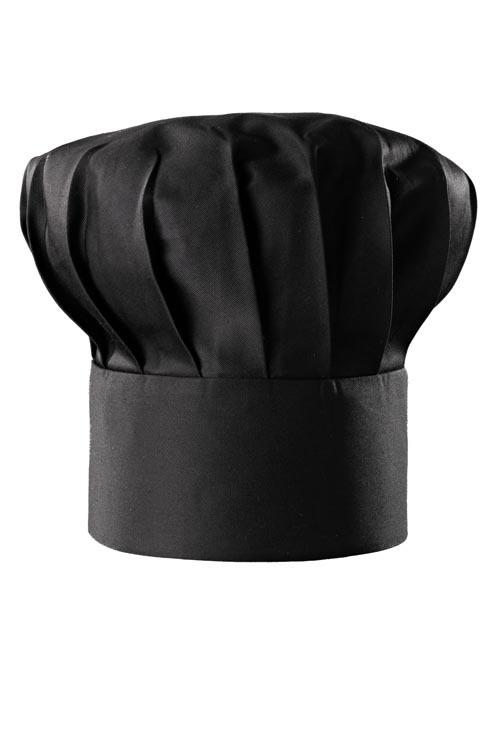 Kuchařská čepice Franz, černá