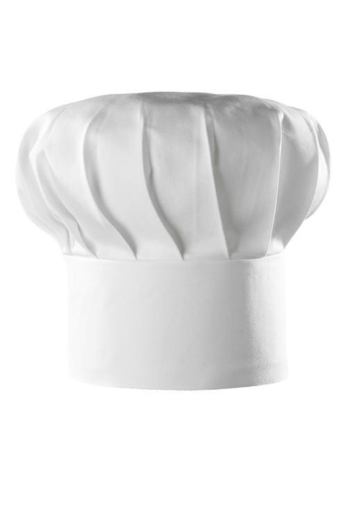 Kuchařská čepice Franz, bílá