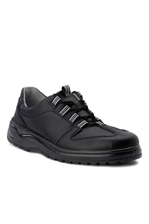 Kuchařská obuv Kiu - černá/ bez ocelové špice