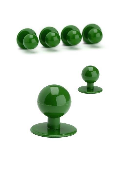 Knoflíky ke kuchařským rondonům - zelená