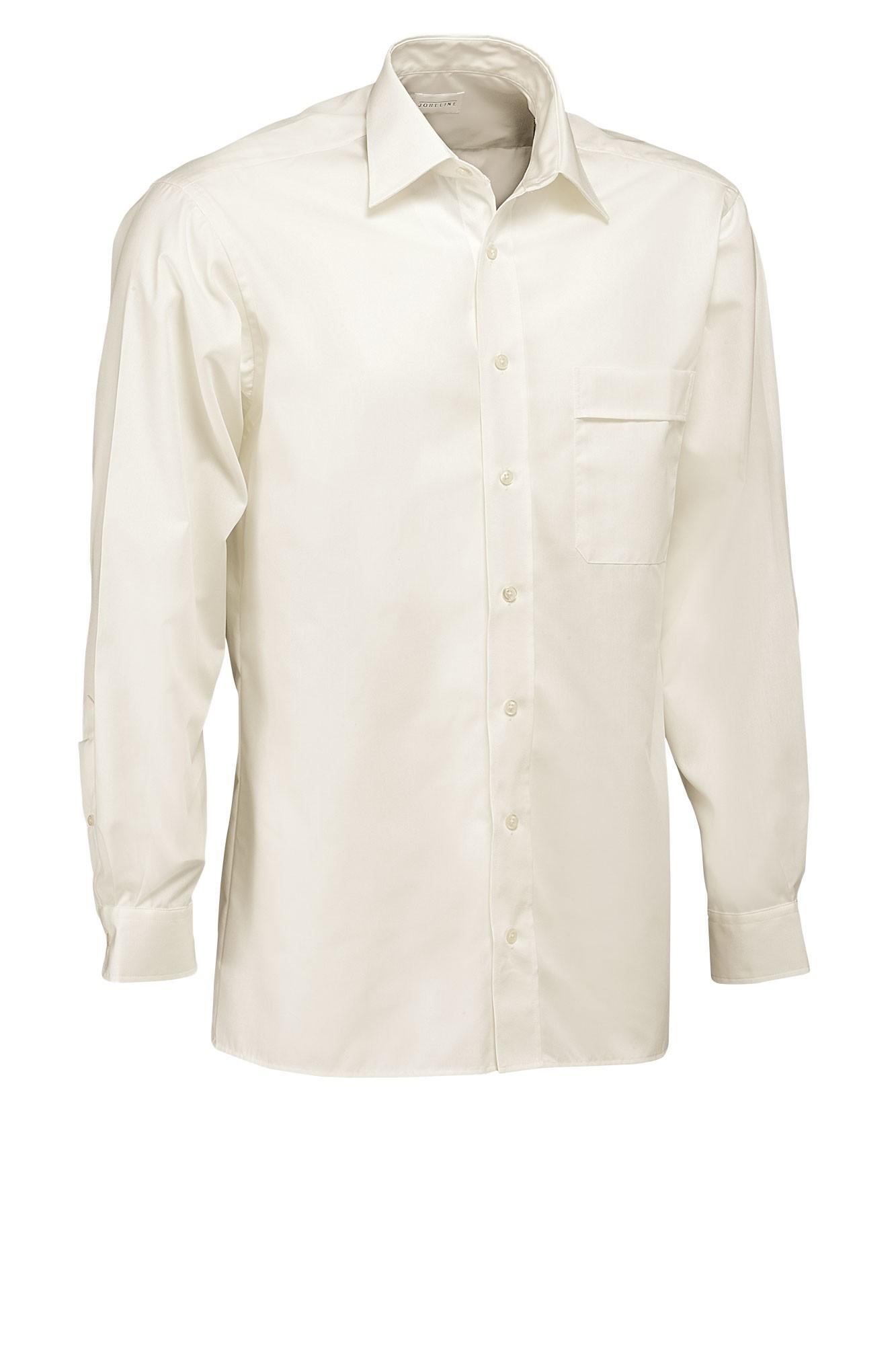 Pánská košile Marc - krémová/dlouhý rukáv