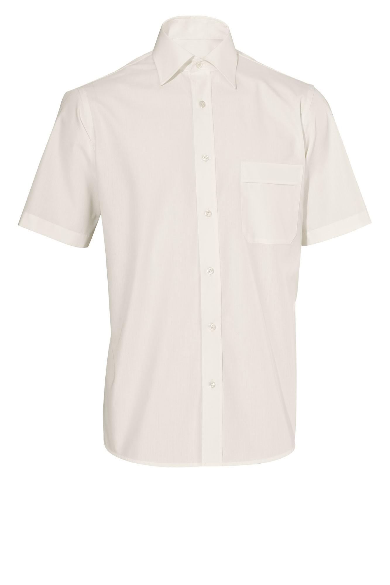 Pánská košile Marc - krémová/krátký rukáv