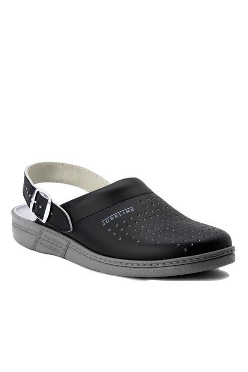 Kuchařské pantofle Jamaica - černá