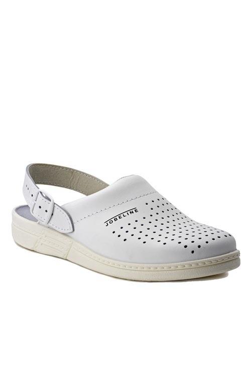 Kuchařské pantofle Jamaica - bílá