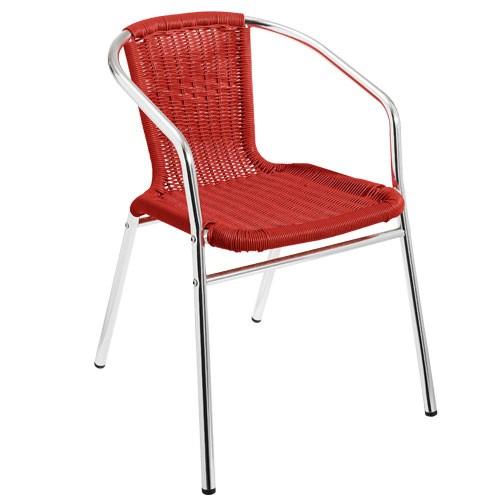 Alu židle vyplétané