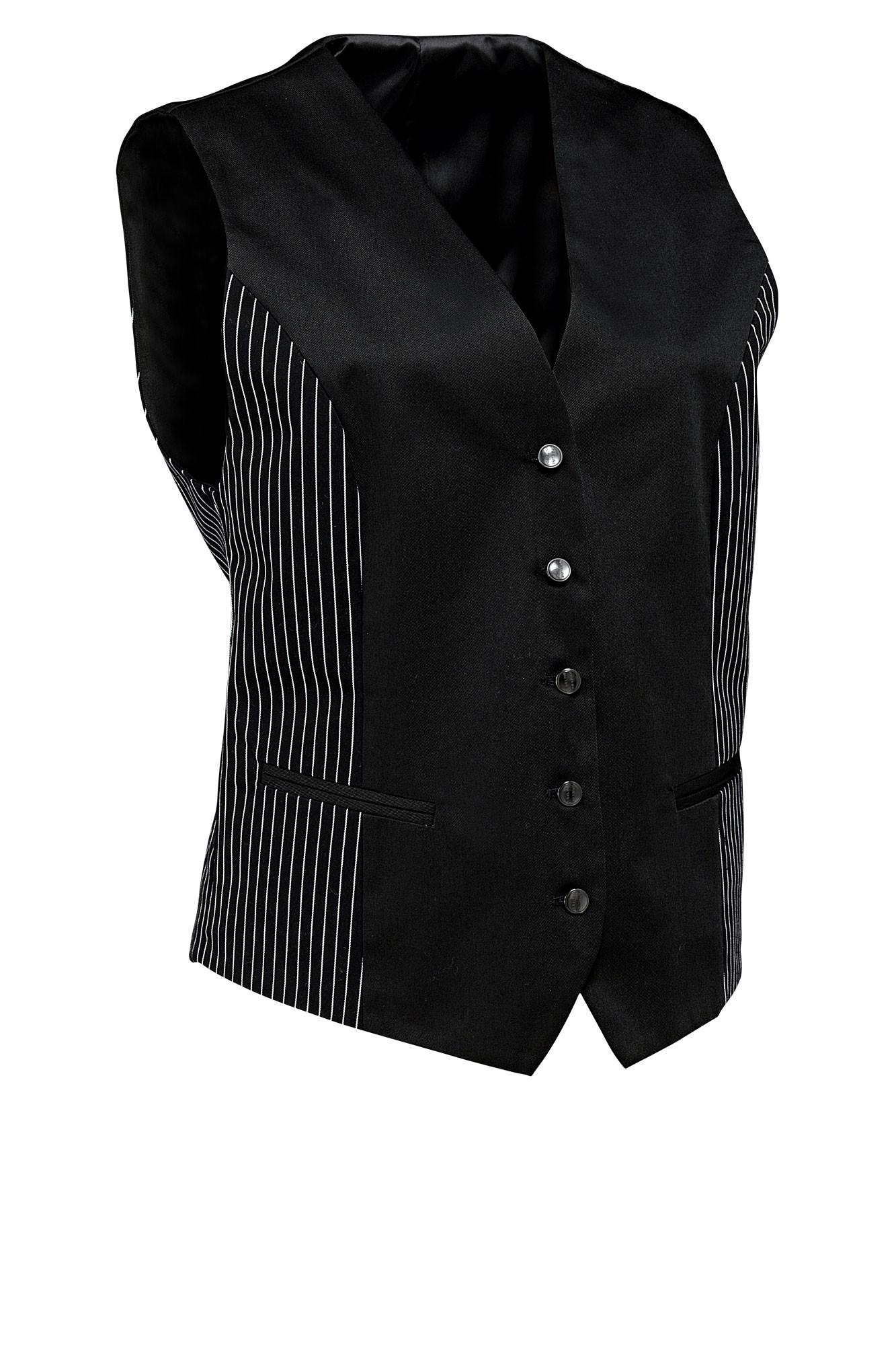 Dámská vesta Pilar - černá