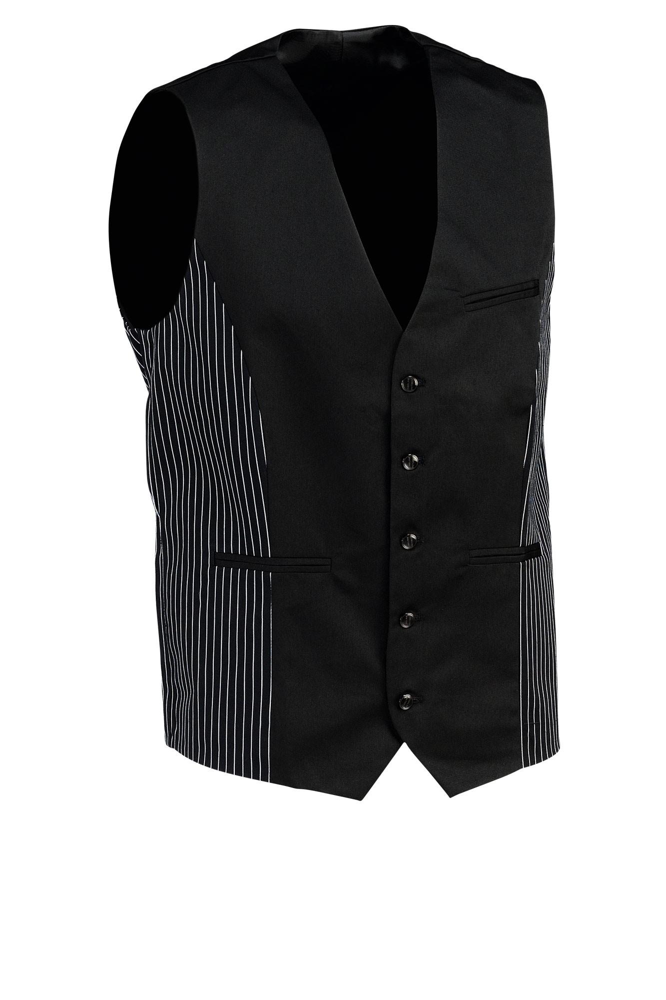 Pánská vesta Pilar - černá