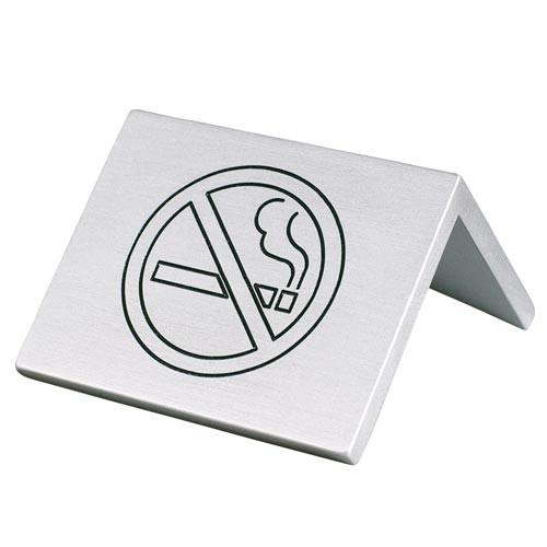 Stojánek na stůl - Zákaz kouření, 4x5 cm