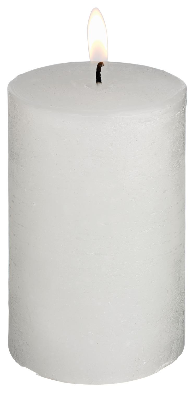 Svíčky Rustic - bílá