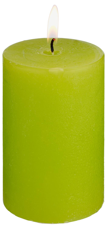 Svíčky Rustic - limetková
