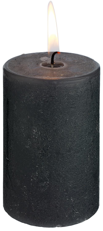 Svíčky Rustic - antracitová