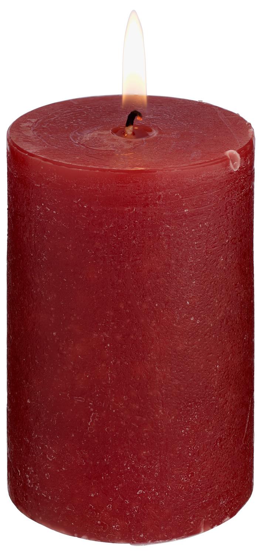 Svíčky Rustic - bordó