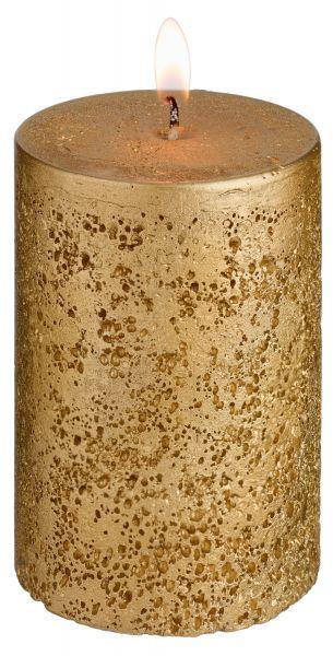 Svíčky Rustic - zlatá